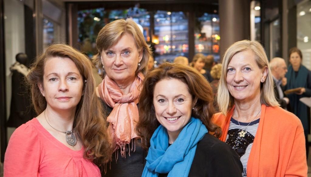 Jury 2016: Ylva Åkesson Dagens Handel, Ylva Skoogh Integrate Strategy, Anna Denell Vasakronan, Maria Sandow Svensk Handel, Susanne Sweet Handelshögskolan (ej på bild)
